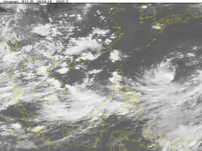 Mưa lớn chưa ngớt, lại xuất hiện áp thấp nhiệt đới trên biển - ảnh 1