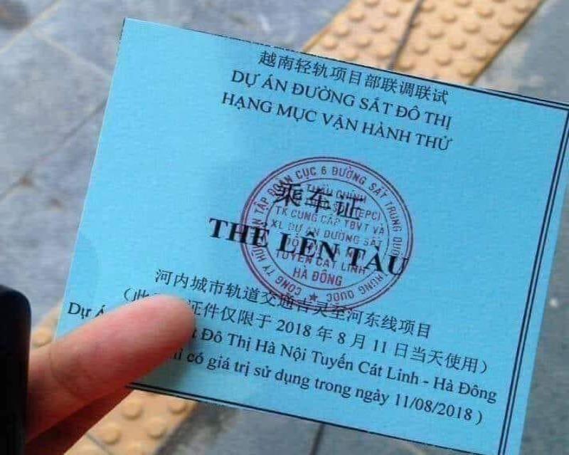 BQL dự án đường sắt lên tiếng về thẻ lên tàu có ghi chữ TQ - ảnh 2