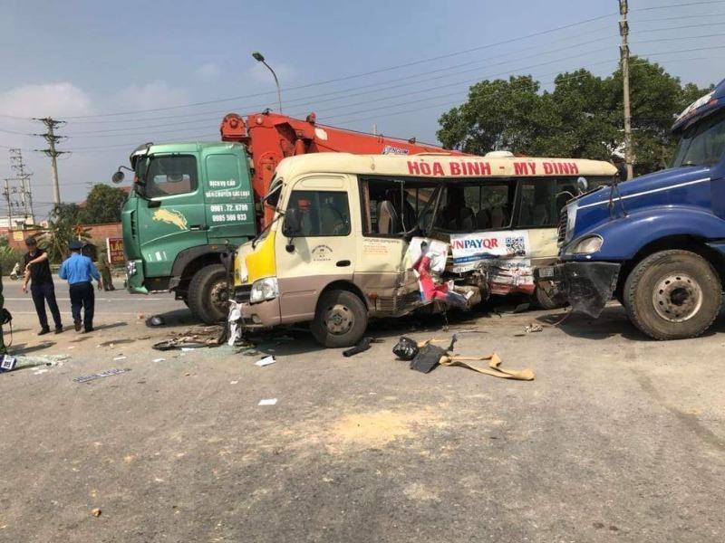 Yêu cầu kiểm tra chất kích thích vụ tông xe liên hoàn ở Hà Nội - ảnh 1