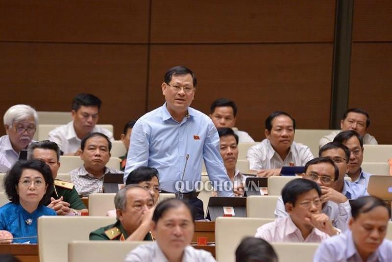 Đại biểu Nguyễn Hữu Cầu: Bộ trưởng GTVT trả lời còn tránh - ảnh 1