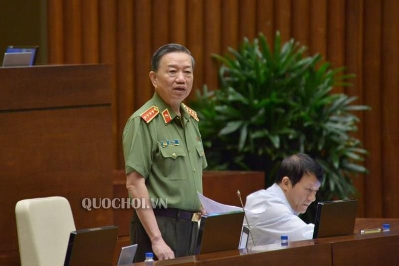 Bộ trưởng Tô Lâm nói về đường dây xăng giả của Trịnh Sướng - ảnh 1