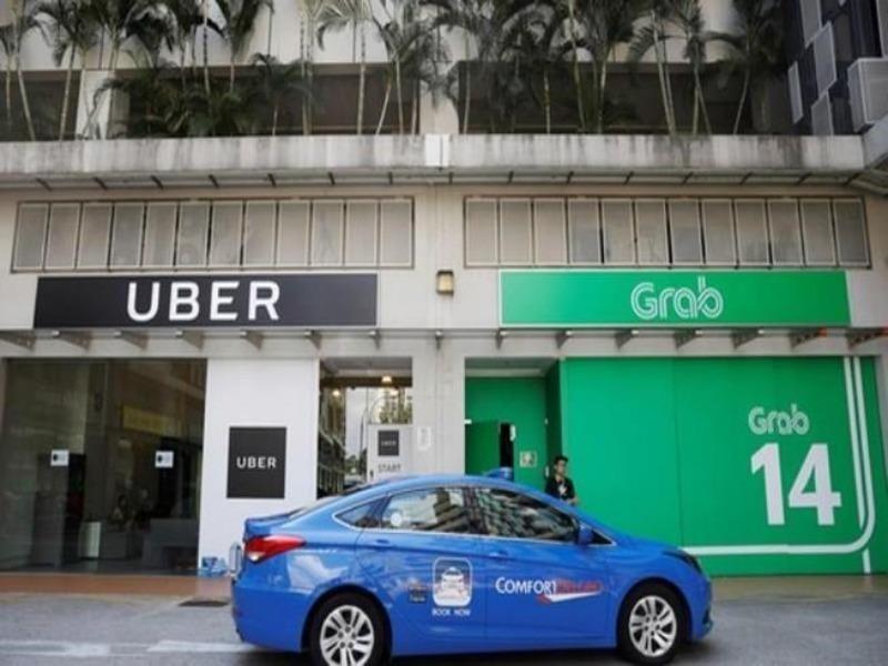 Thương vụ Grab mua Uber: Không chấp nhận áp dụng xử phạt - ảnh 1