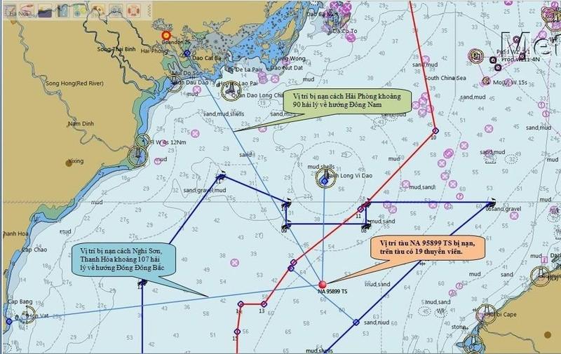 Bộ Giao thông đề nghị hỗ trợ tìm kiếm 9 thuyền viên mất tích - ảnh 2
