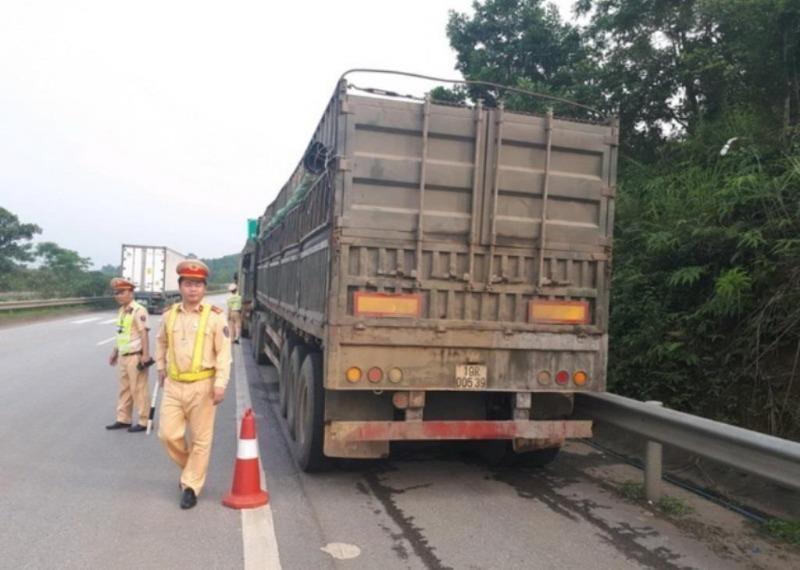 750 tài xế bị tước giấy phép lái xe vì chở quá tải - ảnh 1
