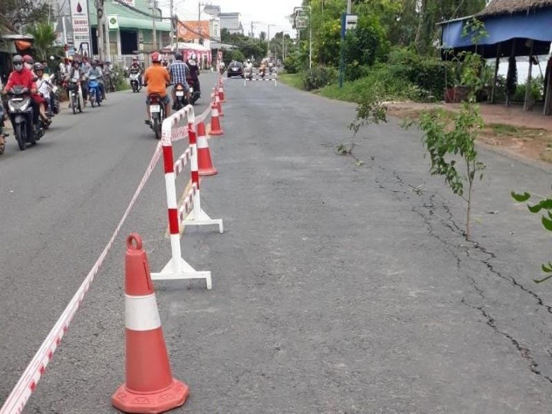 Bộ GTVT thông tin về sự cố sạt lở quốc lộ 91 - ảnh 1