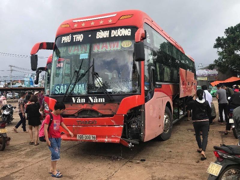 Vụ tai nạn làm 4 người chết: Xe khách bị mất dữ liệu - ảnh 1