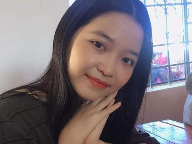 Sân bay Nội Bài lưu ảnh nữ sinh trước khi mất liên lạc  - ảnh 1