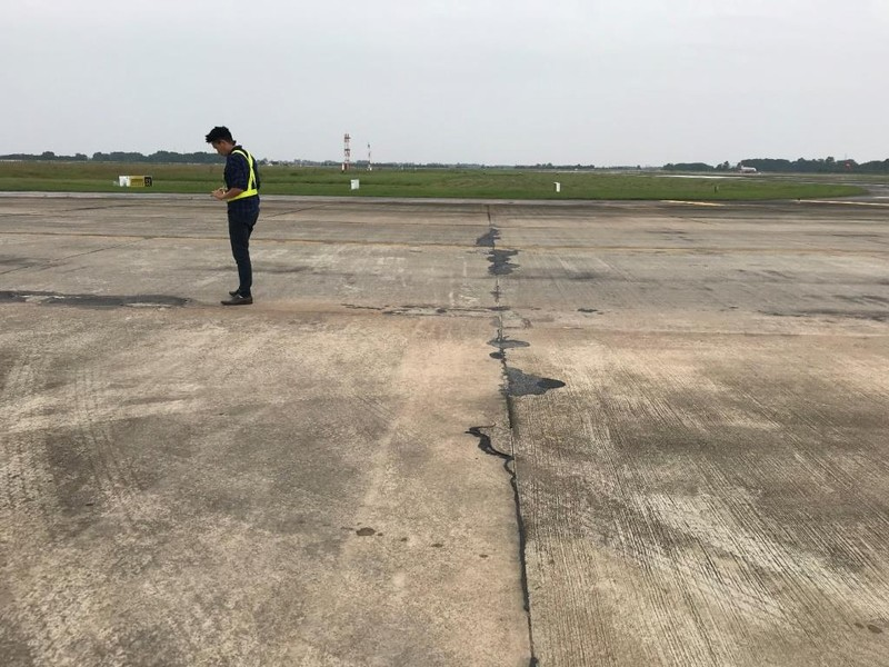 Những hình ảnh cho thấy sân bay Nội Bài đang hư hỏng nặng - ảnh 5