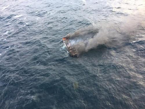 Vụ cháy tàu ở Hàn Quốc: Đã tìm thấy 1 trong 6 người Việt  - ảnh 1