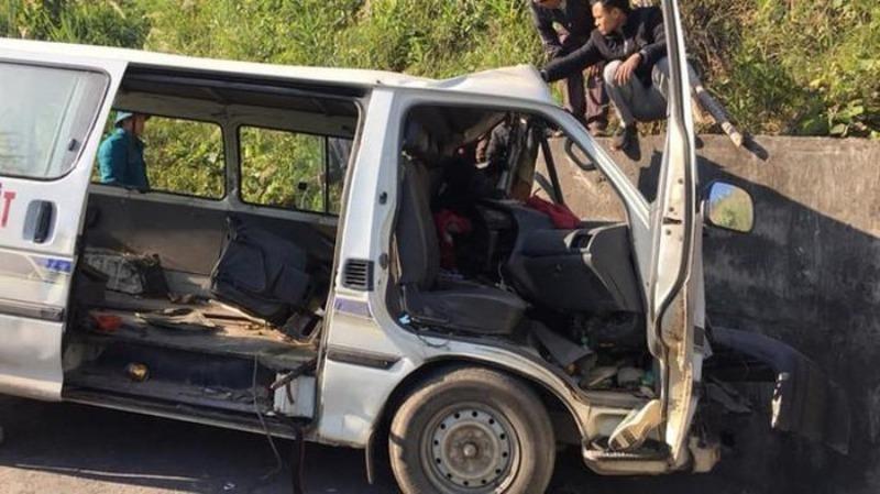 Xe đoàn từ thiện gặp nạn khiến 3 người chết đeo biển số giả - ảnh 1
