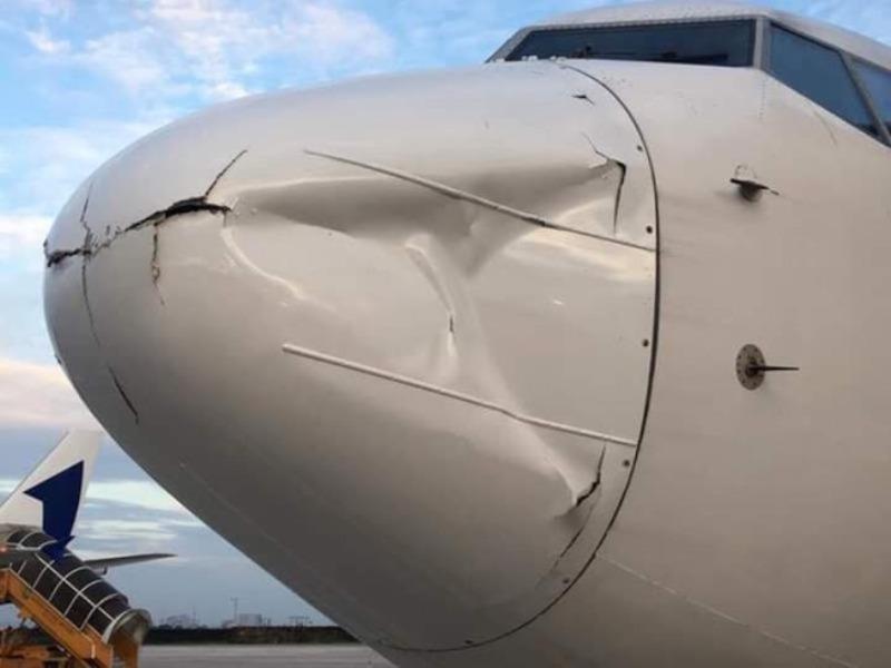1 vật thể lạ suýt va vào máy bay Vietnam Airlines  - ảnh 1