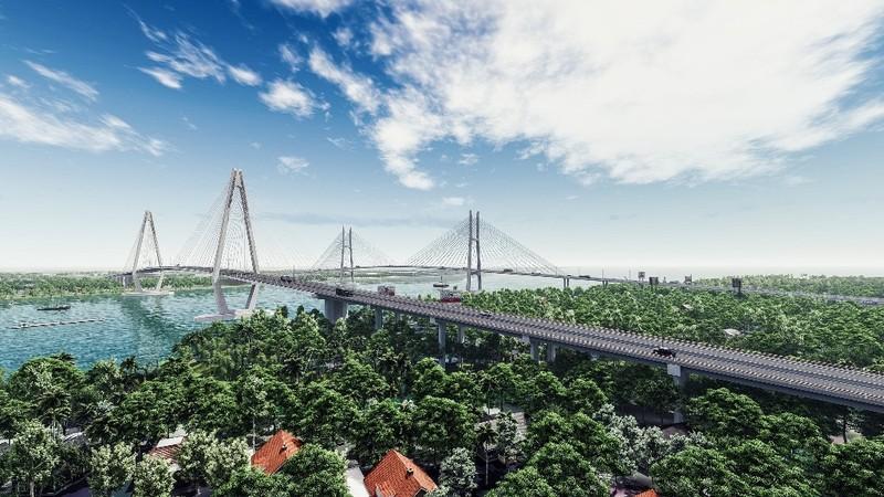 Khởi công dự án xây dựng cầu Mỹ Thuận 2 - ảnh 1
