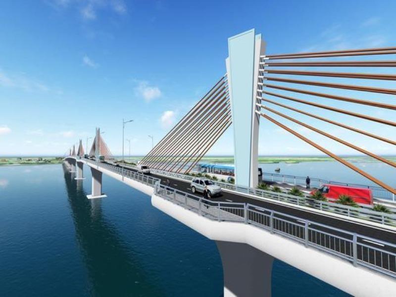 Bộ GTVT đang thu xếp vốn xây cầu Đại Ngãi - ảnh 1