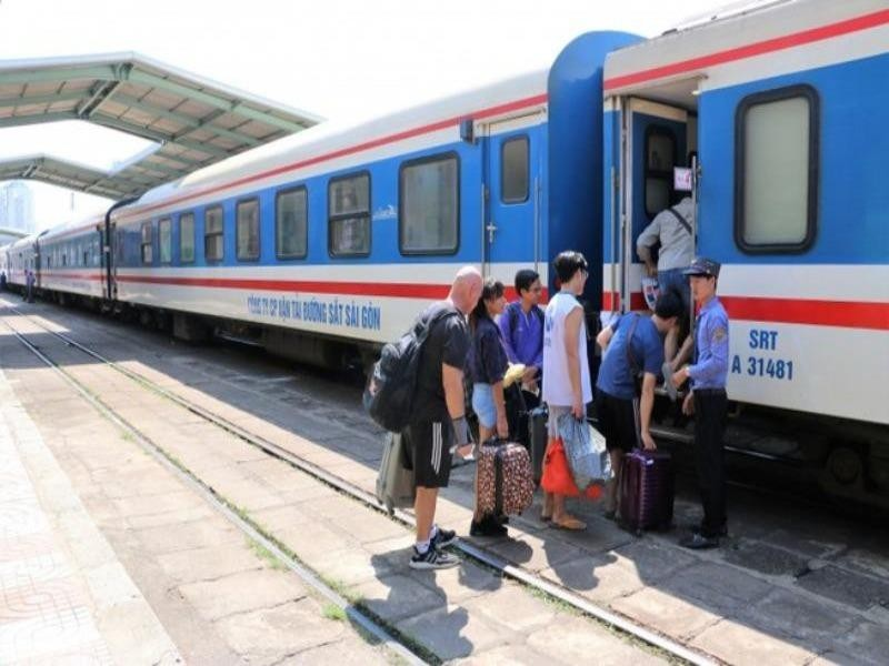 Danh sách các chuyến tàu còn chạy trên đường sắt Bắc-Nam - ảnh 1