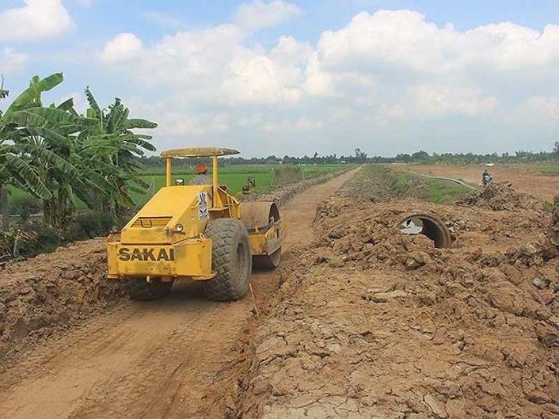 Yêu cầu làm rõ nguồn vật liệu ở cao tốc Trung Lương - Mỹ Thuận - ảnh 1
