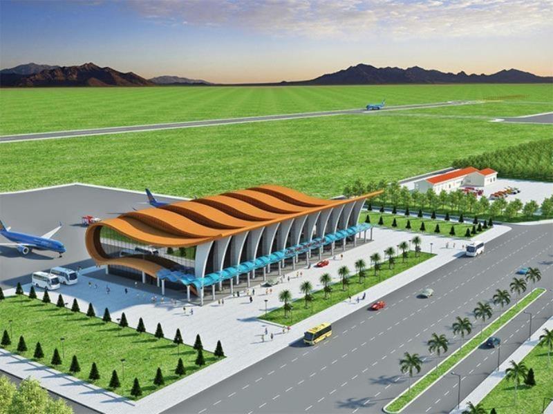 Trữ quỹ đất để xây sân bay Phan Thiết với hai đường băng - ảnh 1