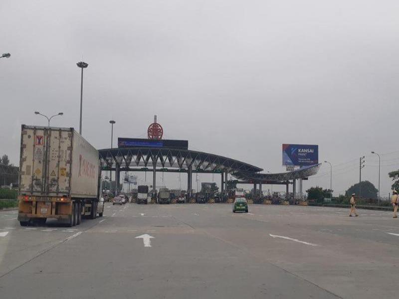Bắt đầu thu phí tự động cao tốc Pháp Vân- Cầu Giẽ- Ninh Bình - ảnh 1