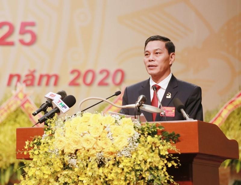 Bí thư Thành ủy Hải Phòng Lê Văn Thành tái đắc cử nhiệm kỳ mới - ảnh 2