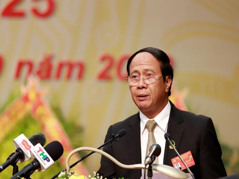 Bí thư Thành ủy Hải Phòng Lê Văn Thành tái đắc cử nhiệm kỳ mới - ảnh 1