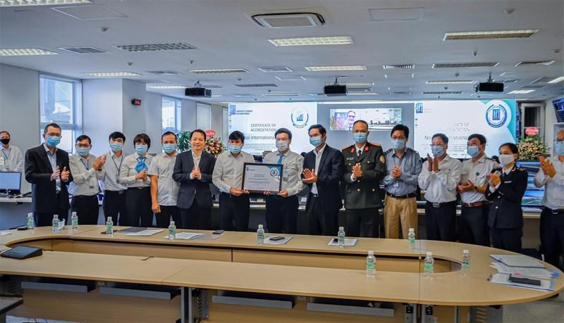 Sân bay Nội Bài được trao chứng nhận AHA - ảnh 1