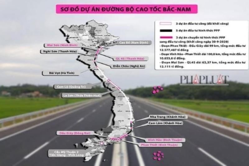 Bộ GTVT ký hợp đồng BOT với 1 dự án cao tốc Bắc - Nam - ảnh 1