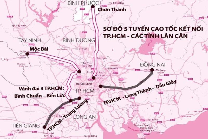 Cao tốc TP.HCM – Thủ Dầu Một – Chơn Thành có thời gian thu phí 32 năm - ảnh 1