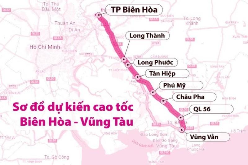 Đề nghị các tỉnh thống nhất đơn vị đầu tư cao tốc Biên Hòa - Vũng Tàu - ảnh 1