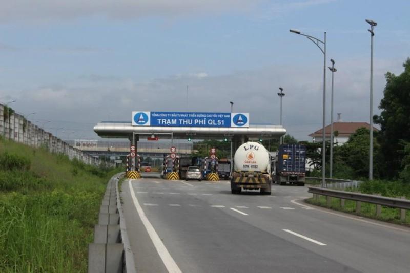 Trạm thu phí trên cao tốc TP.HCM - Long Thành - Dầu Giây hoạt động trở lại - ảnh 1