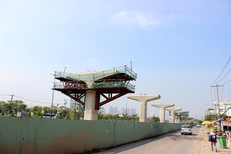 Cận cảnh tuyến Metro số 1 Bến Thành – Suối Tiên đang dần hình thành - ảnh 7