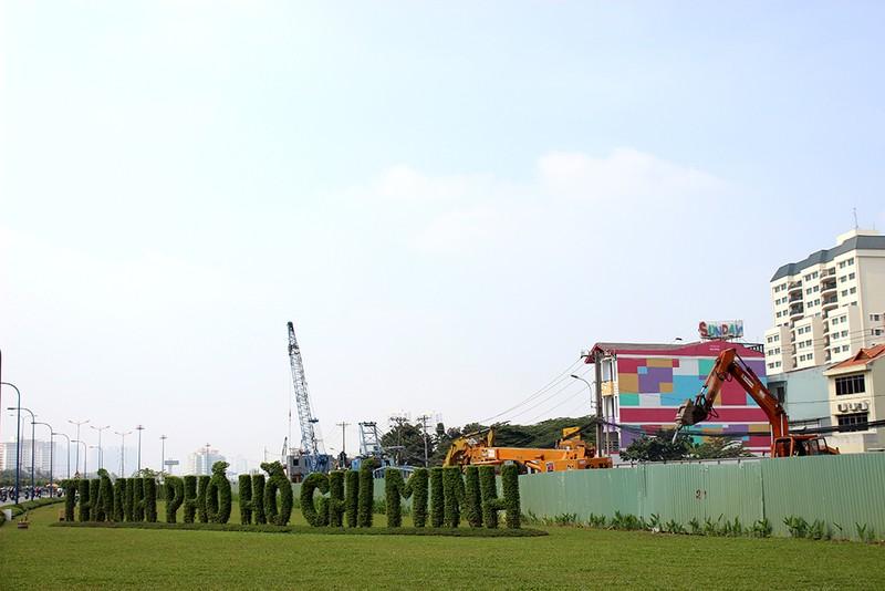 Cận cảnh tuyến Metro số 1 Bến Thành – Suối Tiên đang dần hình thành - ảnh 12