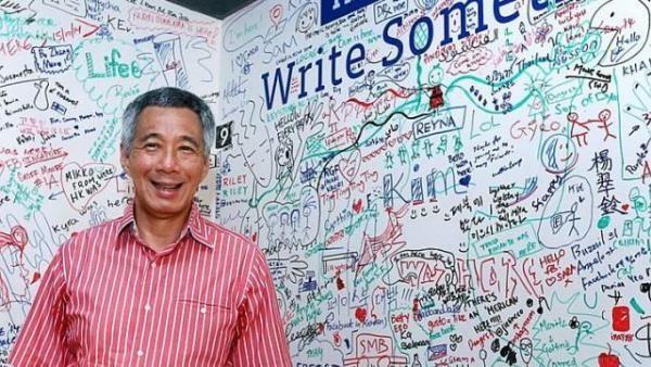 """Thủ tướng Singapore """"tiếp xúc"""" với dân qua mạng xã hội Facebook - ảnh 1"""