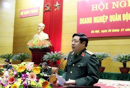 Đại tướng Phùng Quang Thanh: DN quân đội phải đặt lợi ích đất nước lên hàng đầu - ảnh 1