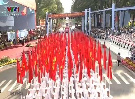 Lễ diễu binh, diễu hành kỷ niệm 30/4 - ảnh 2