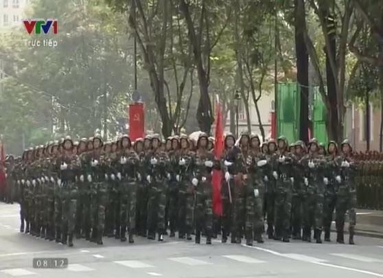 Lễ diễu binh, diễu hành kỷ niệm 30/4 - ảnh 9