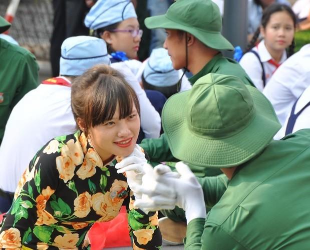 Lễ diễu binh, diễu hành kỷ niệm 30/4 - ảnh 32