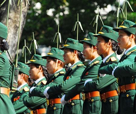Lễ diễu binh, diễu hành kỷ niệm 30/4 - ảnh 12