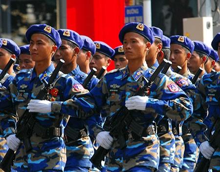 Lễ diễu binh, diễu hành kỷ niệm 30/4 - ảnh 13