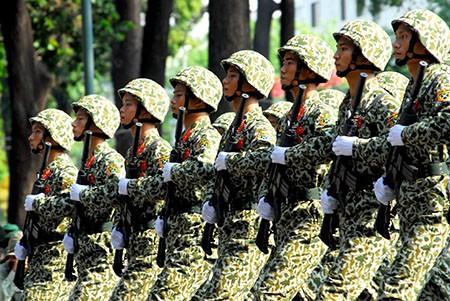 Lễ diễu binh, diễu hành kỷ niệm 30/4 - ảnh 14