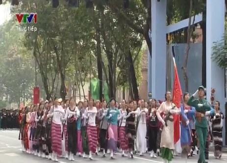 Lễ diễu binh, diễu hành kỷ niệm 30/4 - ảnh 15
