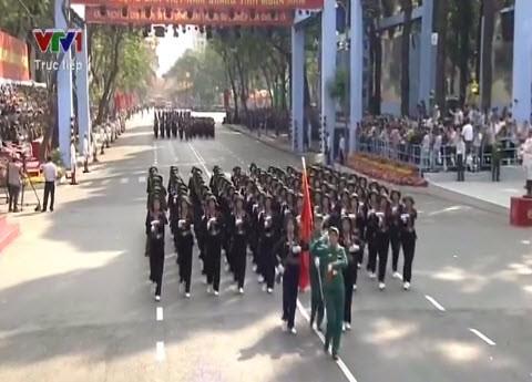 Lễ diễu binh, diễu hành kỷ niệm 30/4 - ảnh 16