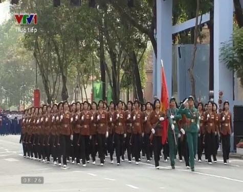 Lễ diễu binh, diễu hành kỷ niệm 30/4 - ảnh 17