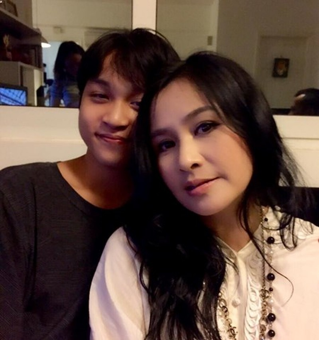 Thanh Lam khoe ảnh con trai đẹp như tài tử - ảnh 4