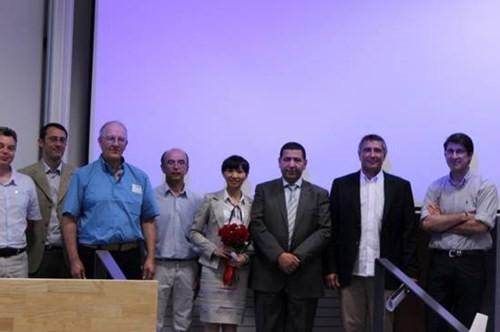 Nữ giảng viên giành giải thưởng luận văn tiến sĩ xuất sắc của Pháp - ảnh 2