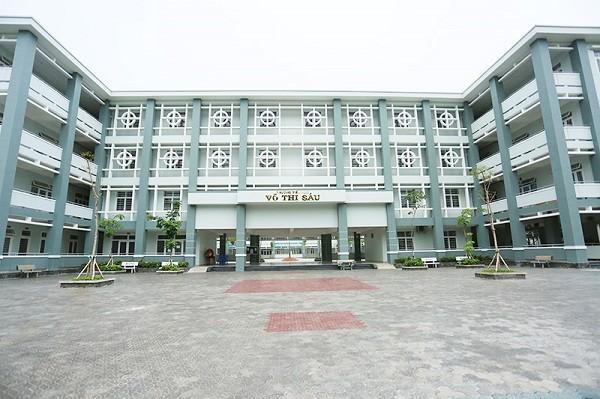 Trường tiểu học Võ Thị Sáu mới được đưa vào hoạt động được hơn 1 năm (ảnh internet)