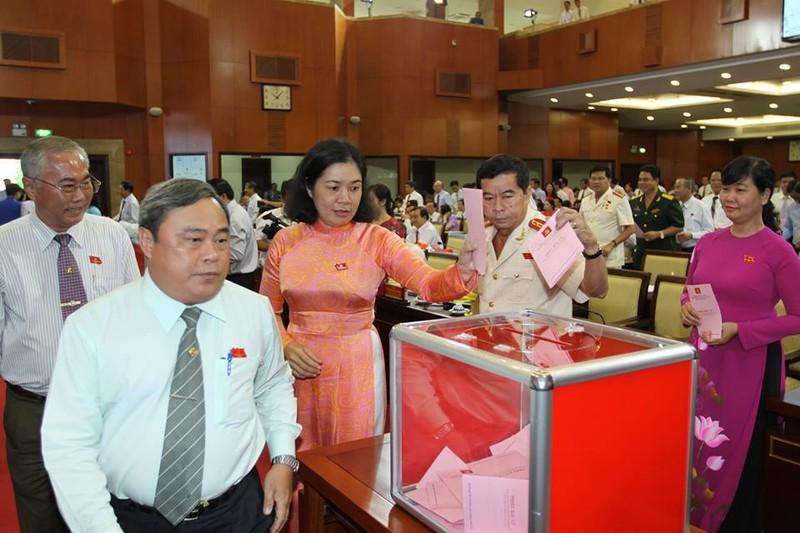 Bầu 69 thành viên vào Ban Chấp hành Đảng bộ TP.HCM khóa X - ảnh 4