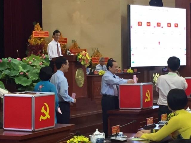 Bầu 69 thành viên vào Ban Chấp hành Đảng bộ TP.HCM khóa X - ảnh 1