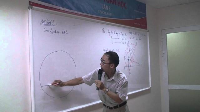 TS. Lê Bá Khánh Trình hiện đang làm công tác giảng dạy tại khoa Toán, Đại học Khoa học Tự nhiên - Đại học Quốc gia Thành phố Hồ Chí Minh
