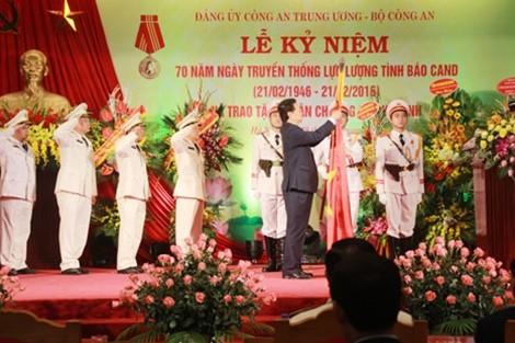 Lực lượng tình báo CAND lần thứ ba đón nhận huân chương Hồ Chí Minh  - ảnh 1