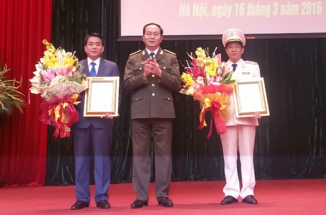Trợ lý Bộ trưởng Trần Đại Quang làm Giám đốc Công an TP Hà Nội - ảnh 1