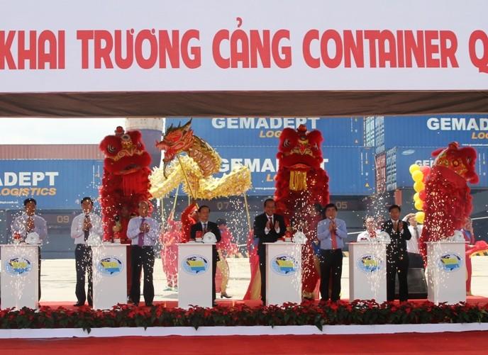 Khai trương cảng container quốc tế trị giá 200 triệu USD tại TP.HCM - ảnh 2